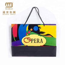 shopping packing custom colorful paper bag